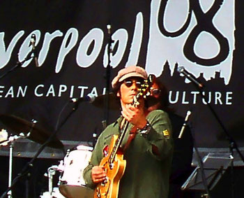 Johnny Silver as John Lennon Mathew Street Festival