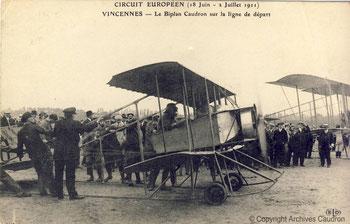 Circuit Européen - Juin-Juillet 1911