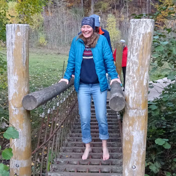 Fit werden ohne Sport - Im Stütz über Brücke