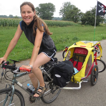 Fit werden ohne Sport - Radreise mit Kindern
