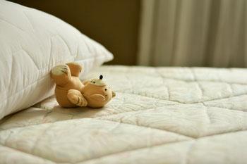 Bett, Schadstoffe, Matratze