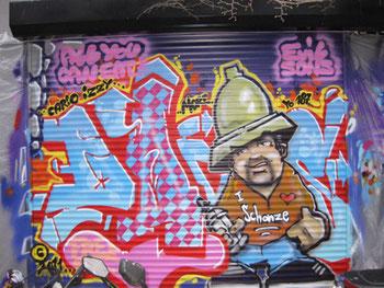 Graffiti Workshop Teenager erlebnisgeschenk kinder geschenkideen mädchen