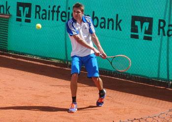 Jakob Schnaitter (TSV 1880 Starnberg – DRL 91) an Nummer 5 gesetzt – gern gesehener Gast in Aidenbach