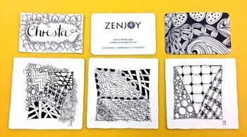 Zentangle Schweiz Zenjoy Kurs