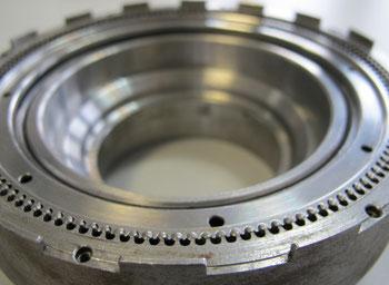 Der TQ HPR 120S e-Bike Motor funktioniert über ein patentiertes Pinring Getriebe
