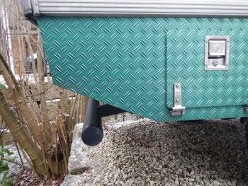 Neuer, zugelassener Unterfahrschutz für Bimobil EX 345
