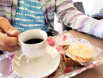当店こだわりのコーヒーの写真。