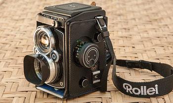 Meine Kameraausrüstung: ROLLEIFLEX 2.8GX, purer Spaß an klassischer Fototechnik. Foto: bonnescape.de