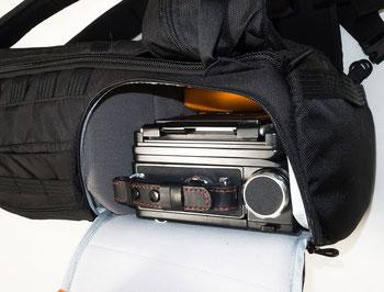 Praxisbericht mit Grossformatkamera: LowePro ProTactic 450 AW II. Copyright 2020 by bonnescape.de