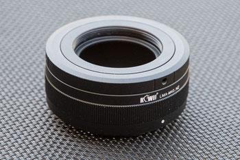 KIWI-Adapter M42-NikonZ für M42-Objektive an Nikon Z. Foto: bonnescape