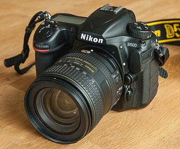 Meine Kameraausrüstung: NIKON D500 - die Allroundkamera. Mit Link zum Test. Foto: bonnescape.de