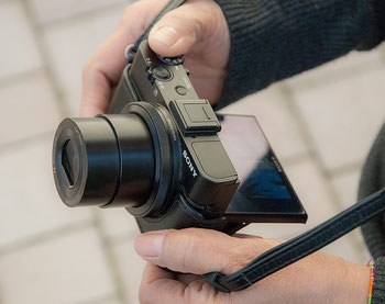 Meine Kameraausrüstung: SONY RX100 II - Das Leistungswunder. Mit Link zum Erfahrungsbericht. Foto: bonnescape.de