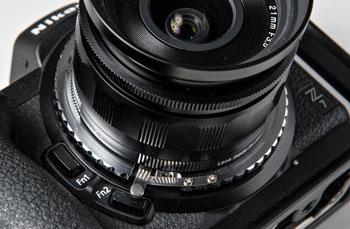 Nikon Z mit Voigtländer Skopar 21 mm 1:3,5 und PIXCO-Adapter NEX-NikZ für Sony E-Mount-Objektive an Nikon Z. Foto: bonnescape
