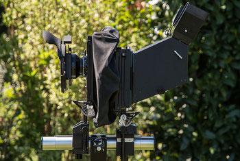 Meine Kameraausrüstung: SINAR F4 - Die superflexible Großbildkamera für 4x5 inch/9x12 cm. Foto: bonnescape.de