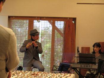 最後の曲、「リベルタンゴ」は帽子を被って正式に…