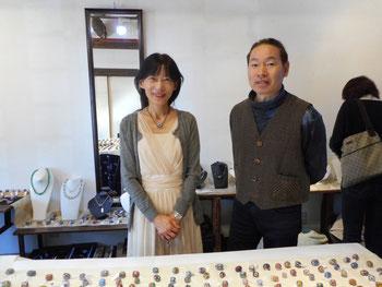 長野県諏訪湖での展示以来。久々の畠山さんと