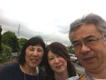 (左)八女から北九州に引っ越した友達