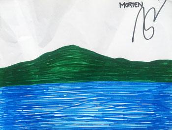 Zeichnung von Morten.