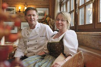 Ihre Gastgeber Christine und Hans Schneider