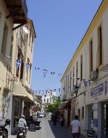Grieks straatje in Chania