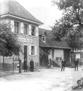 Bäckerei Dietz, ca. 1935