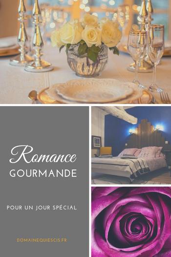 Domaine Quiescis - Nos formules - Romance Gourmande - Chambres d'hôtes et hébergements insolites à Marcellus - Lot et Garonne