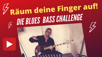 Blues Bass lernen