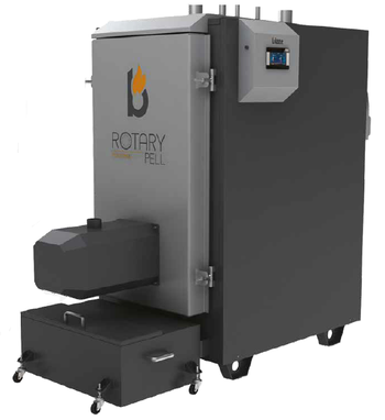 Automatische Pelletkessel Blaze Harmony RotaryPell Industrial