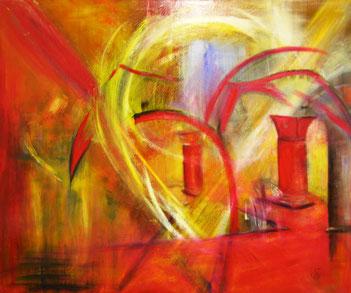 BDL 0705,  Öl auf Leinwand 100 x 120cm