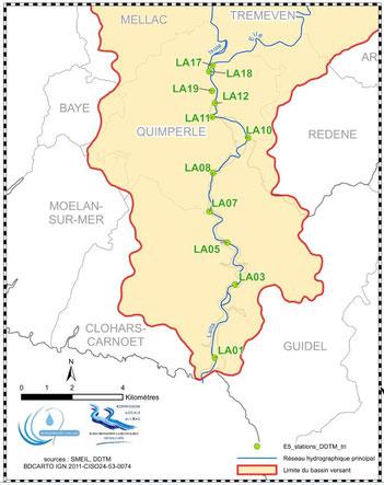 Les stations du réseau des estuaires bretons - DDTM