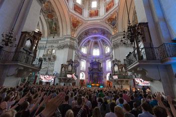 Salzburg Pfingsten Jugendtreffen Oberwallis