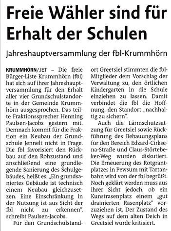 Emder Zeitung 26.02.2020