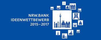Finalist beim NRW.BANK.Ideenwettbewerb 2015-2017