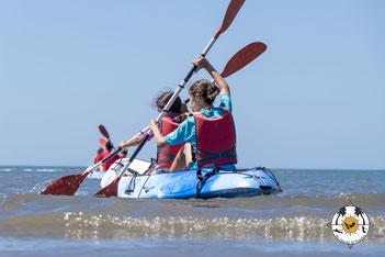 Alquiler de Piragua o Kayak en Isla Canela