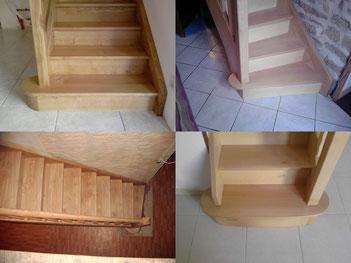 Marches de départ d'escaliers