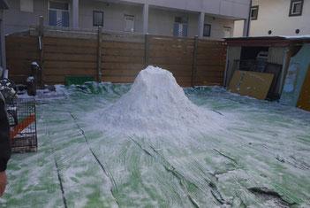 ひろ子さん作雪山!!!!