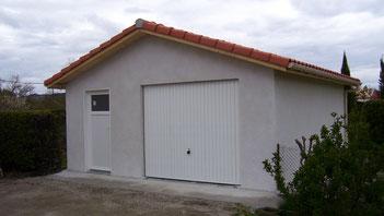 garage, garage prefabriqué, Priou et Fils, 41700 Contres, Blois, Loir et Cher