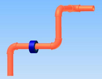 Wasservitalisierung am Leitungsrohr
