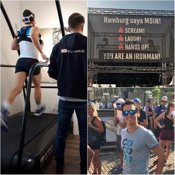 Philipp Mock vor dem Ironman in Hamburg: Leistungsdiagnostik bei iQ atlhletik und die Ruhe vor dem Sturm in der Hansestadt