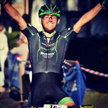 Sascha Starker wird Hessenmeister im Mountainbike