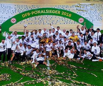 Eintracht Frankfurt wird DFB-Pokalsieger