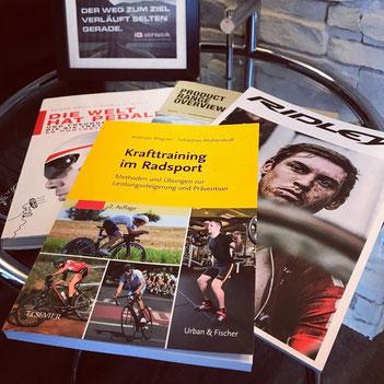 Krafttraining im Radsport, die 2. Auflage des Buches