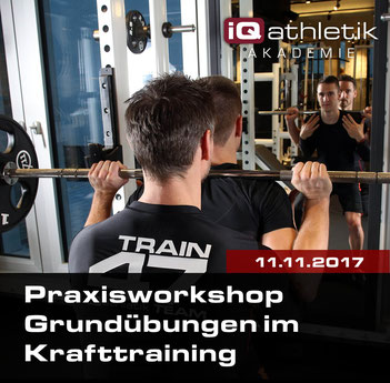 Workshop Grundübungen im Kraftttraining