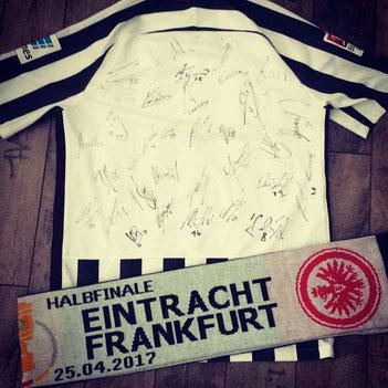 Eintracht Frankfurt gewinnt das Halbfinale des DFB-Pokals