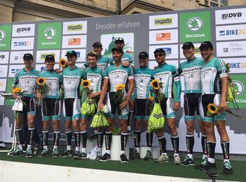 Team Strassacker beim Skoda Velorace Dresden