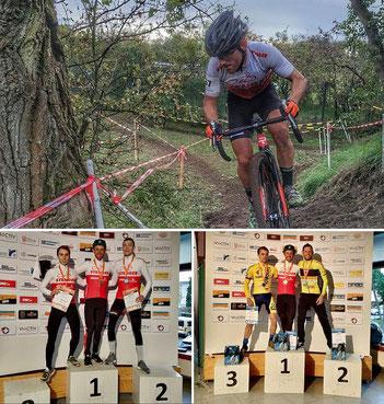Der von iQ athletik trainierte Sportler Sascha Starker gewinnt in Bauschheim das MTB- und Crossrennen