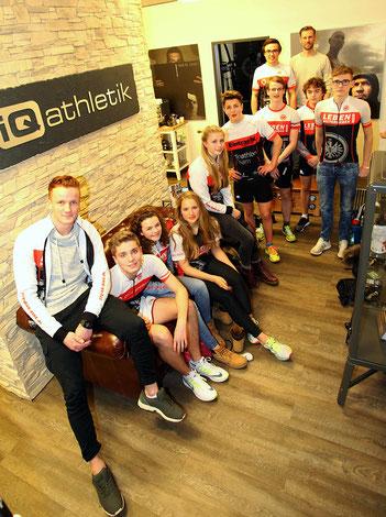 Leistungsdiagnostik mit dem Nachwuchs der Eintracht Frankfurt Triathlon-Abteilung