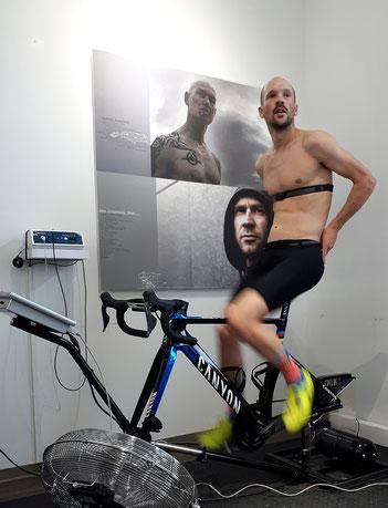 Ironman-Weltmeister Patrick Lange bei der Leistungsdiagnostik im Trainingsinstitut iQ athletik