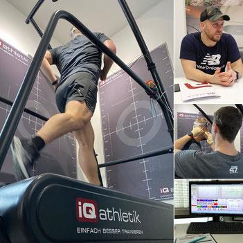 Der beliebte Fitnessblogger Flooorrriii zur Leistungsdiagnostik bei iQ athletik