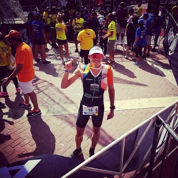 Horst Reichel wird starker 2. beim Ironman 70.3 Cartagen